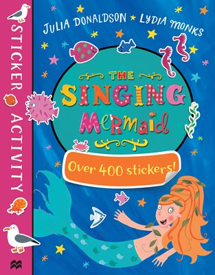 Book cover for The Singing Mermaid Sticker Book